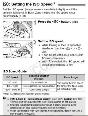 ISO Speed