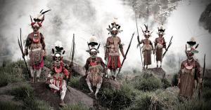 Huli, Indonesia and Papua New Guinea